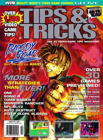 Tips & Tricks Issue 036 February 1998