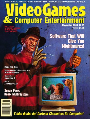 Video Games & Computer Entertainment Issue 10 November 1989