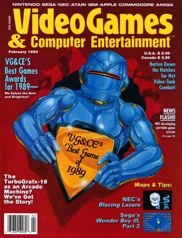 Video Games & Computer Entertainment Issue 13 February 1990