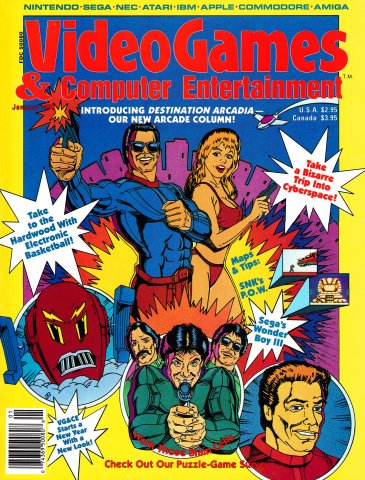 Video Games & Computer Entertainment Issue 12 Janaury 1990