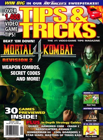 Tips & Tricks Issue 035 January 1998