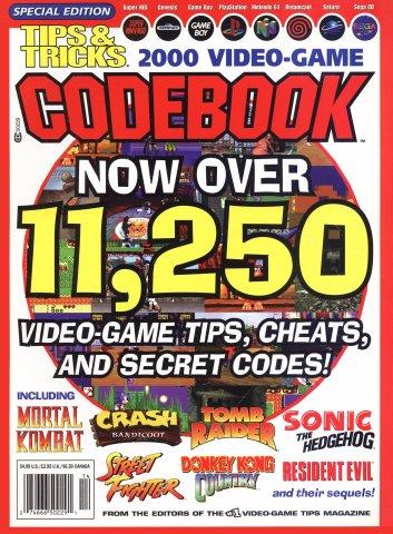 Tips & Tricks Video Game Codebook