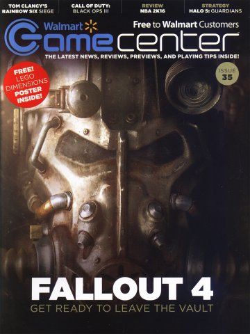 Walmart GameCenter Issue 035