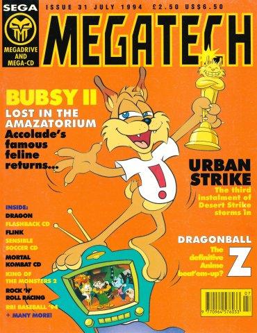 MegaTech 31 (July 1994)