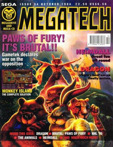 MegaTech 34 (October 1994)