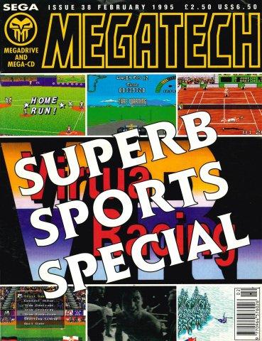 MegaTech 38 (February 1995)