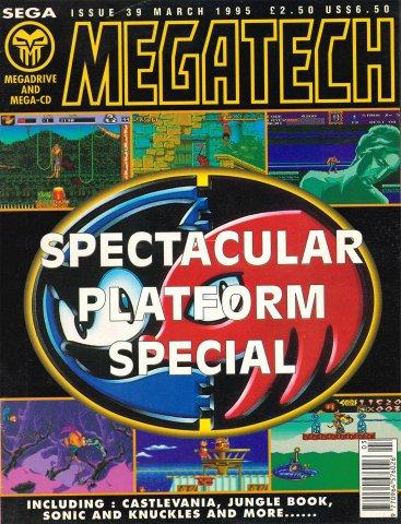 MegaTech 39 (March 1995)