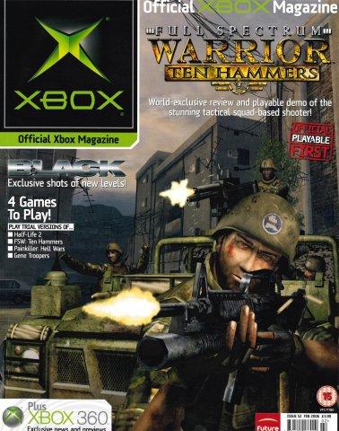Official UK Xbox Magazine Issue 52 - February 2006