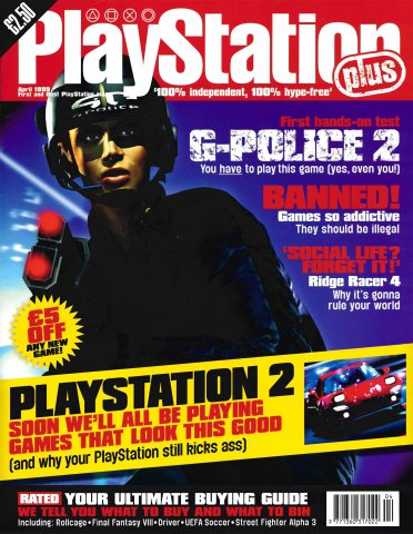PlayStation Plus Issue 043 (April 1999)
