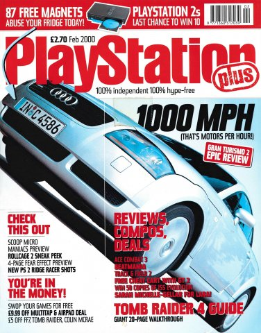 PlayStation Plus Issue 053 (February 2000)
