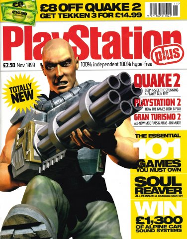 PlayStation Plus Issue 050 (November 1999)