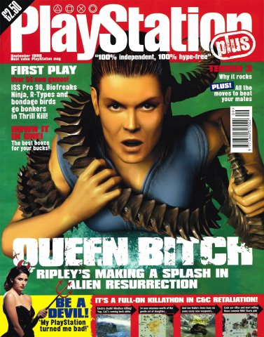 PlayStation Plus Issue 036 (September 1998)