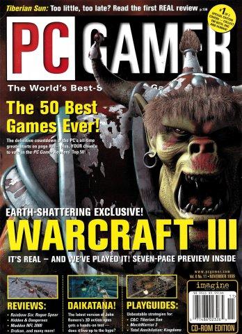 PC Gamer Issue 066 November 1999 (cover 1)