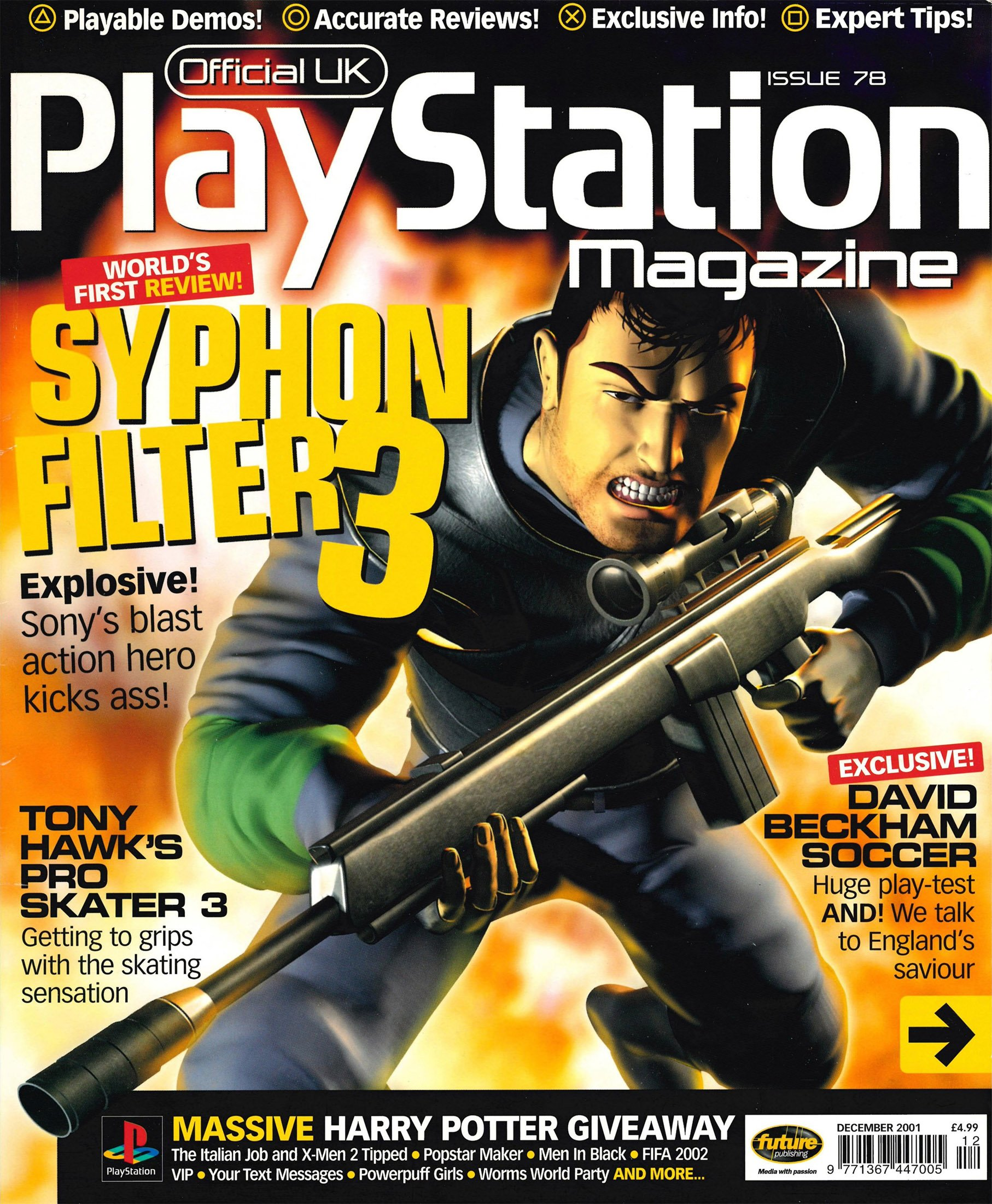Official UK PlayStation Magazine Issue 078 (December 2001)