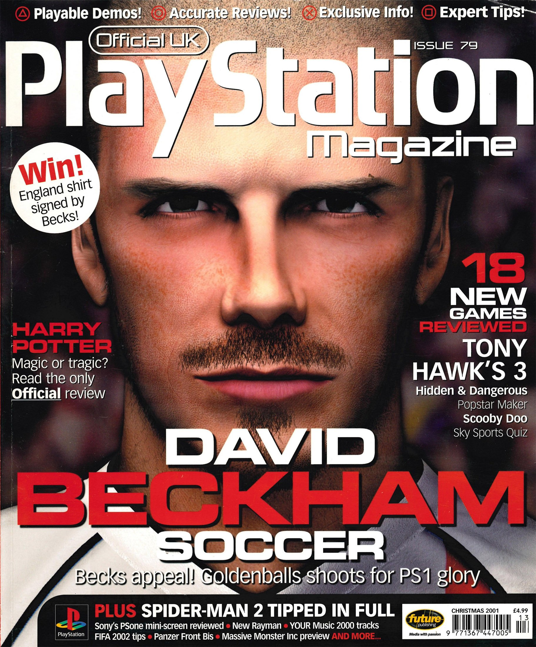 Official UK PlayStation Magazine Issue 079 (Xmas 2001)