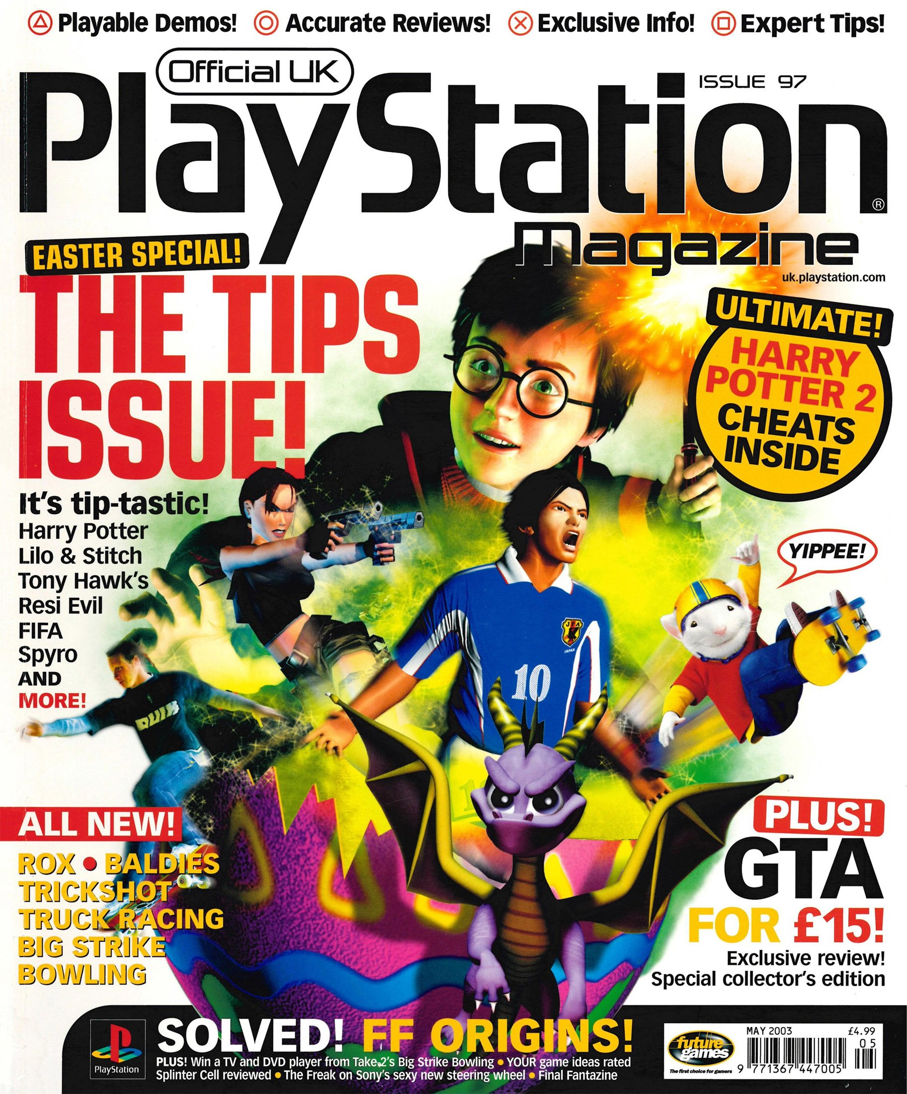 Official UK PlayStation Magazine Issue 097 (May 2003)