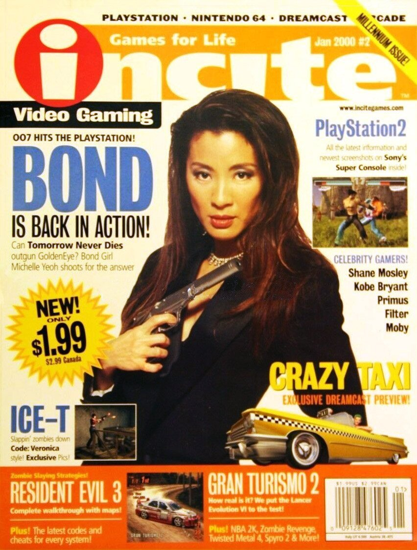 incite Video Gaming Issue 02 (January 2000)