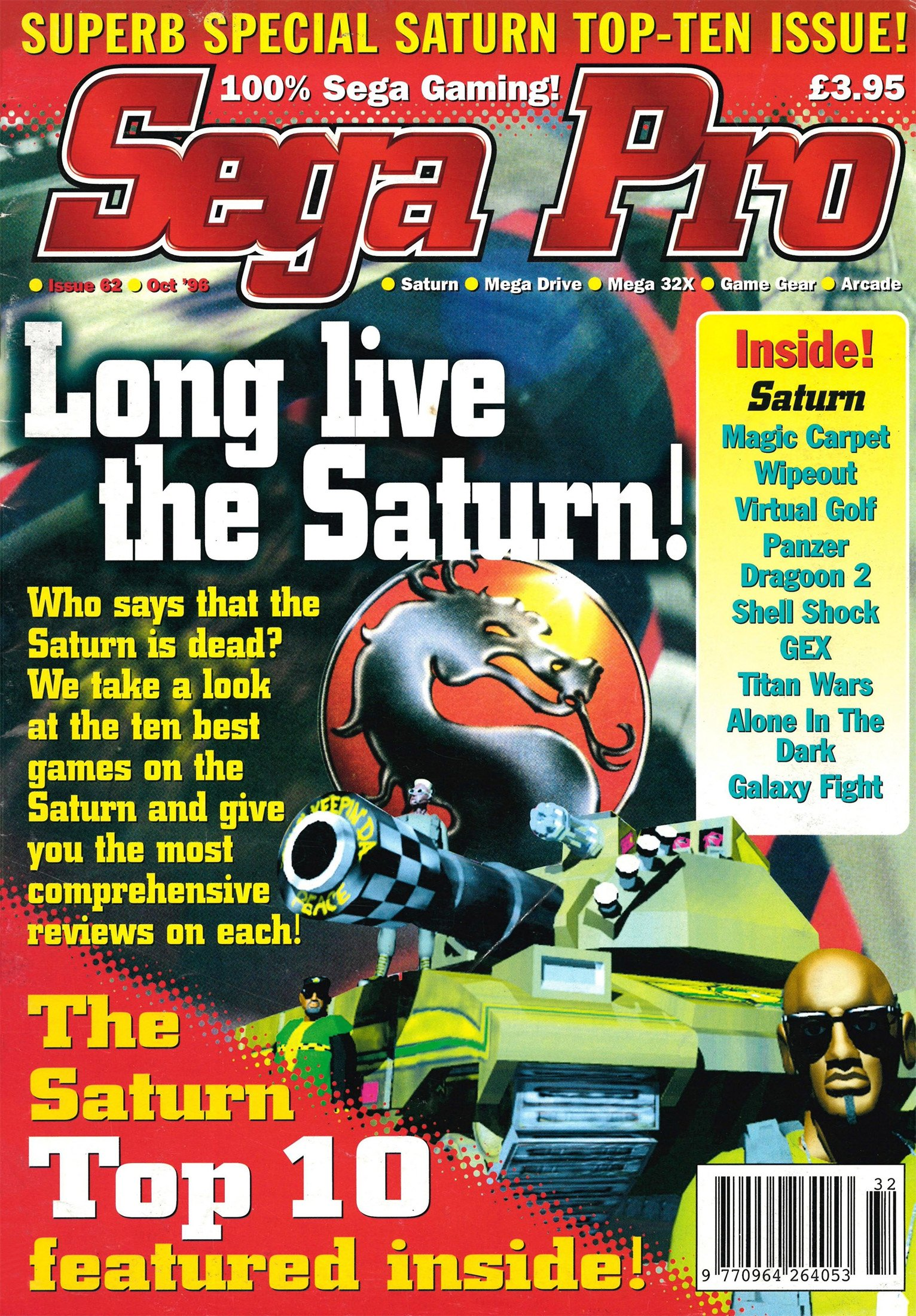 Sega Pro 62 (October 1996)