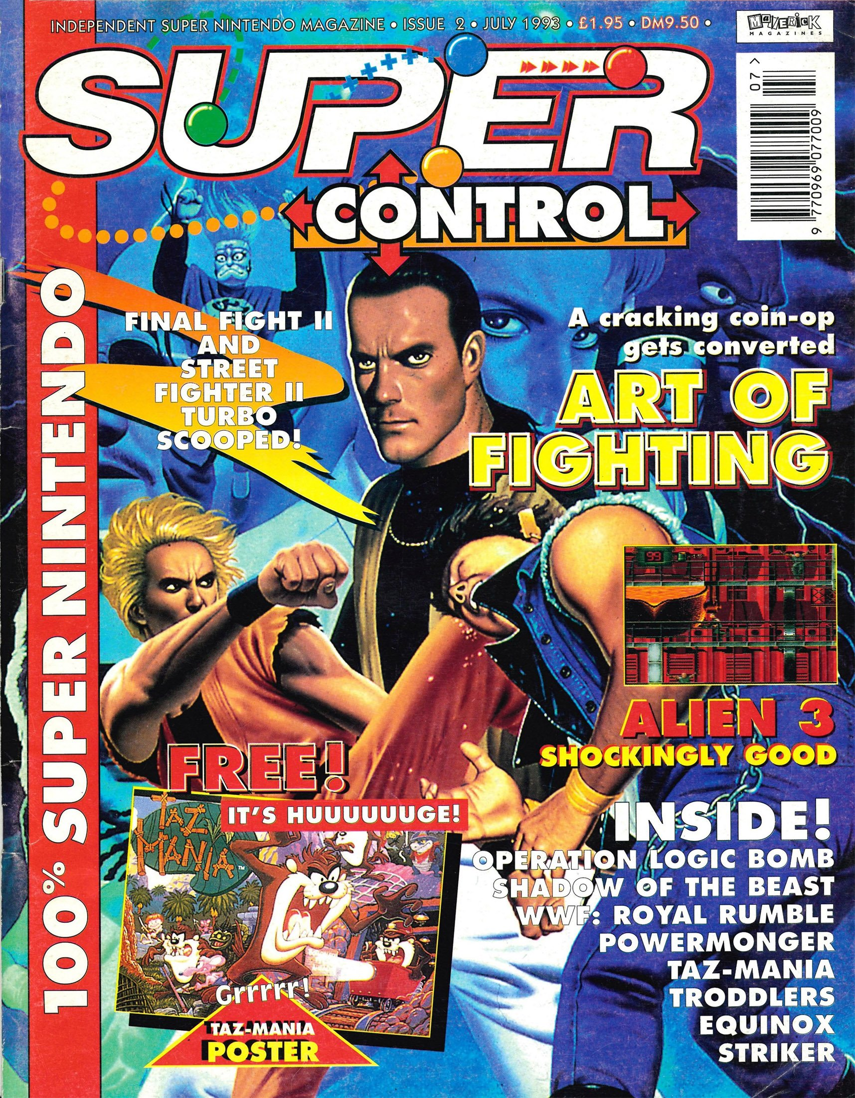 Super Control Issue 02 (July 1993)