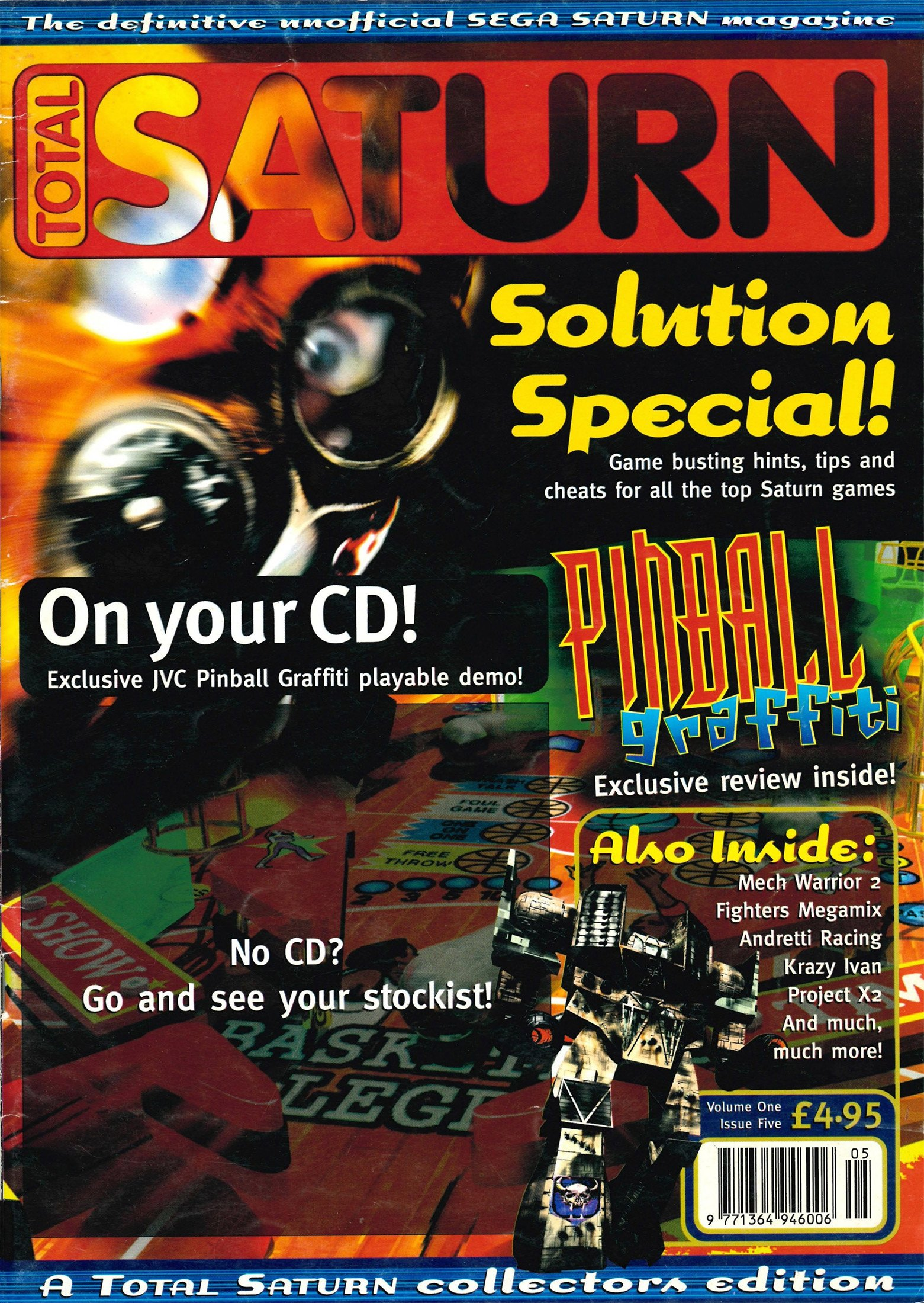 Total Saturn Issue 5 (February 1997)