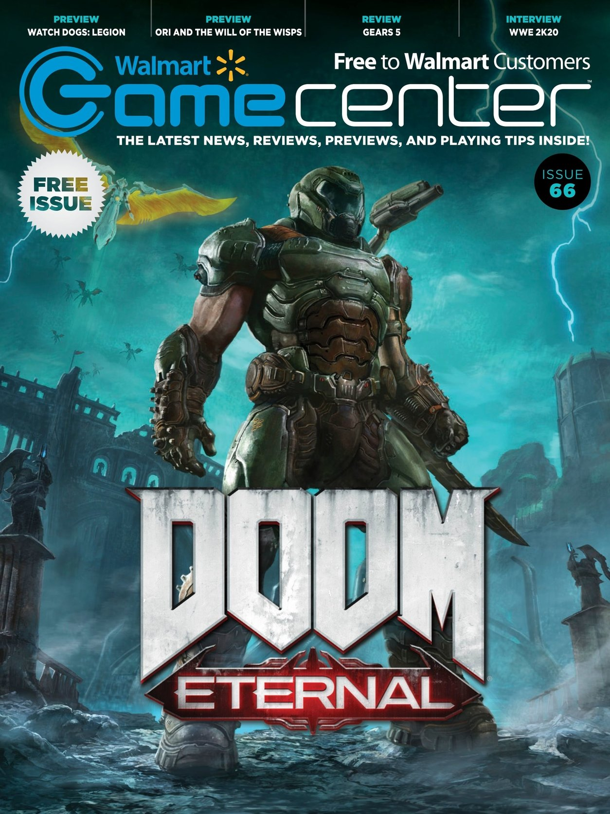 Walmart GameCenter Issue 066