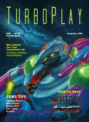 TurboPlay Issue 001 June-July 1990