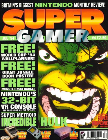 Super Gamer Issue 04 (July 1994)