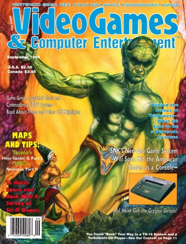 Video Games & Computer Entertainment Issue 20 September 1990
