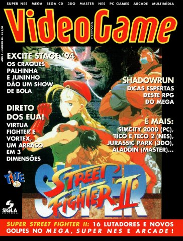 VideoGame Issue 40 (July 1995)