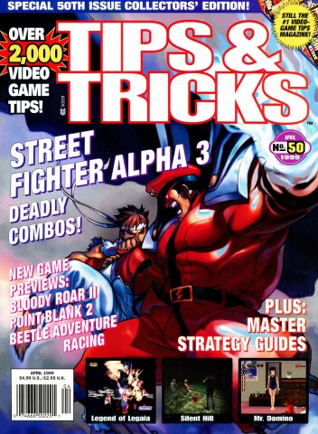 Tips & Tricks Issue 050 April 1999