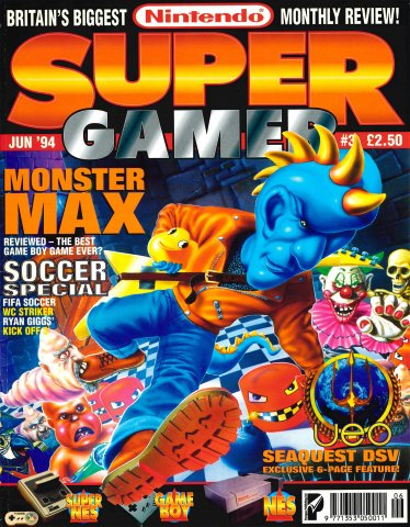 Super Gamer Issue 03 (June 1994)