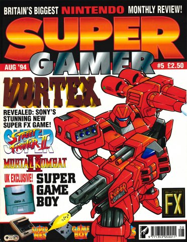 Super Gamer Issue 05 (August 1994)