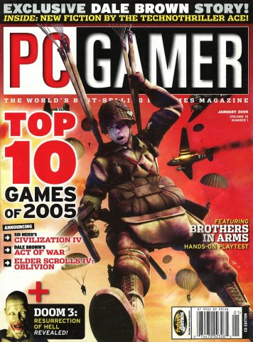 PC Gamer Issue 132 (January 2005)