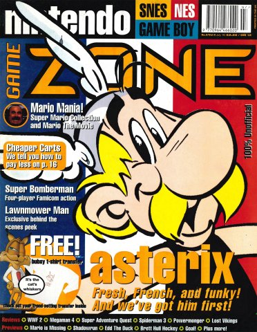 Nintendo Game Zone Issue 09 (July 1993)