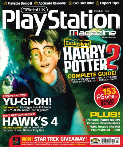 Official UK PlayStation Magazine Issue 093 (January 2003)