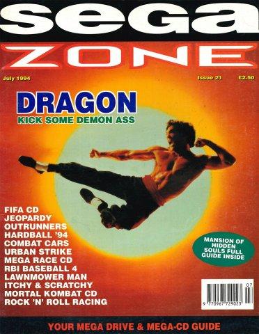 Sega Zone Issue 21 (July 1994)