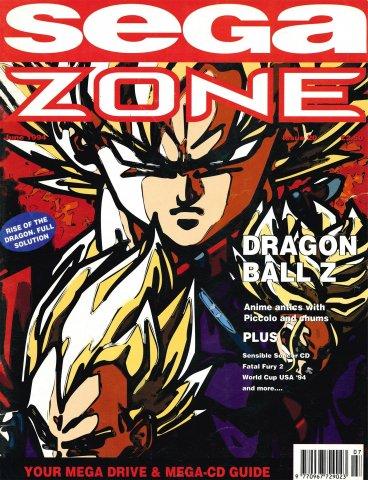 Sega Zone Issue 20 (June 1994)