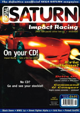 Total Saturn Issue 2 (November 1996)