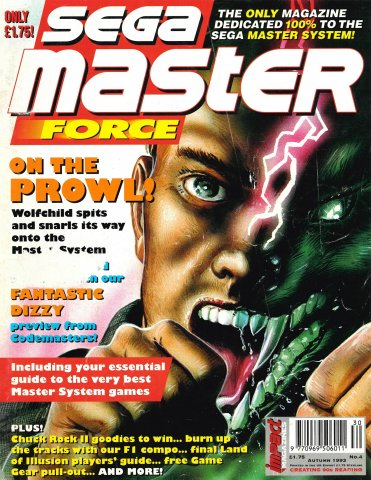 Sega Master Force 04 (Autumn 1993)