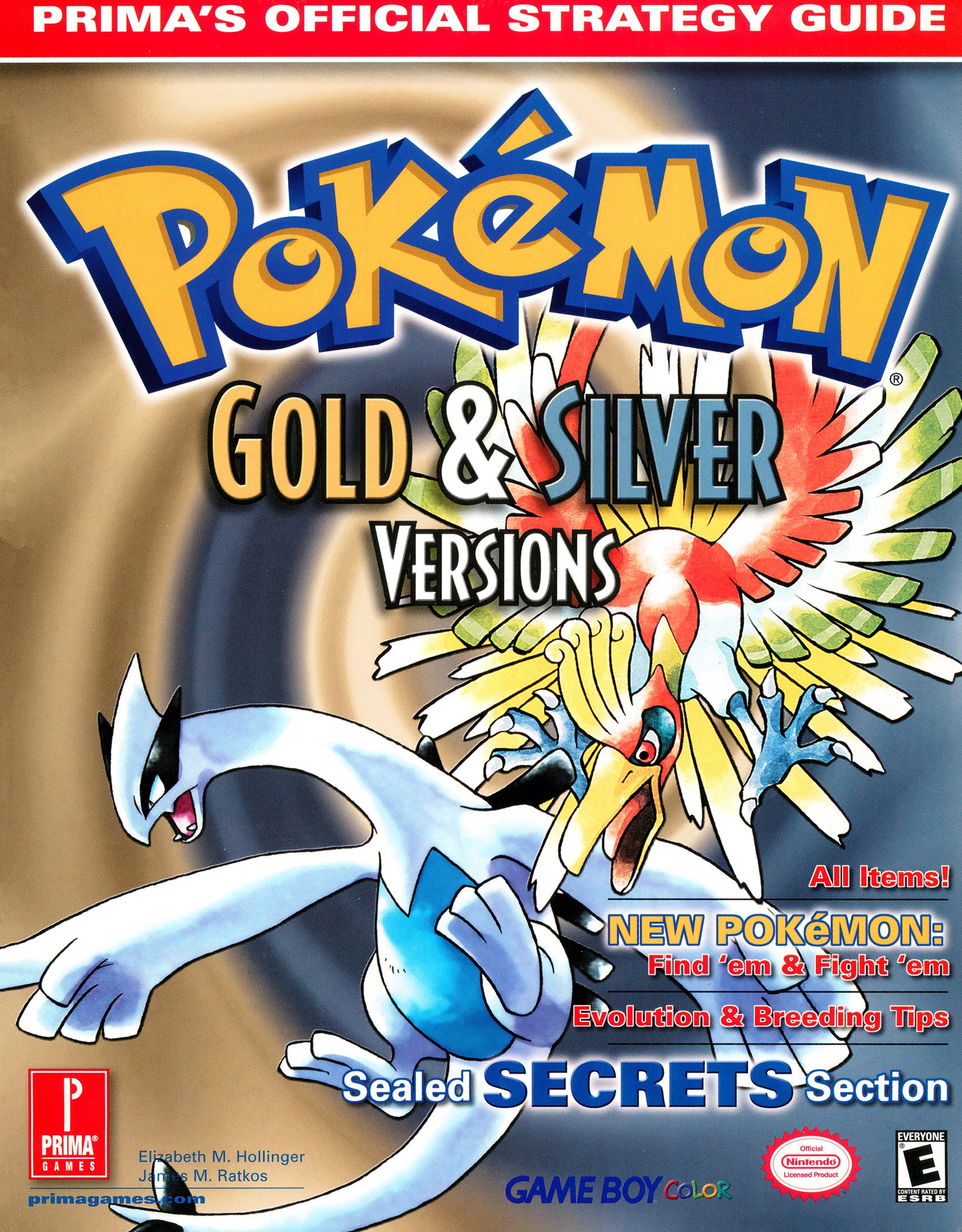 Pokémon Gold & Silver Versions - Prima's Official Strategy Guide