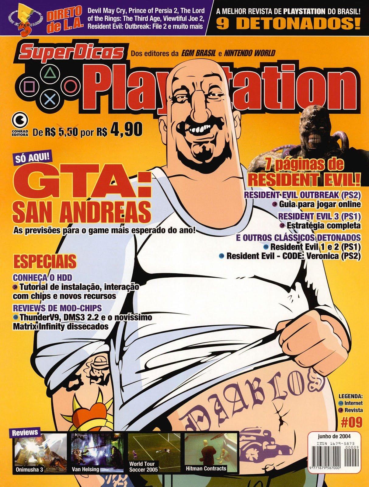 Super Dicas Playstation 09 (June 2004)