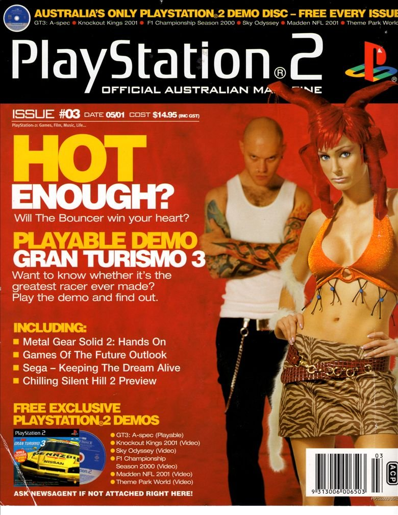 Playstation 2 Official Magazine (AUS) Issue 03 (May 2001)