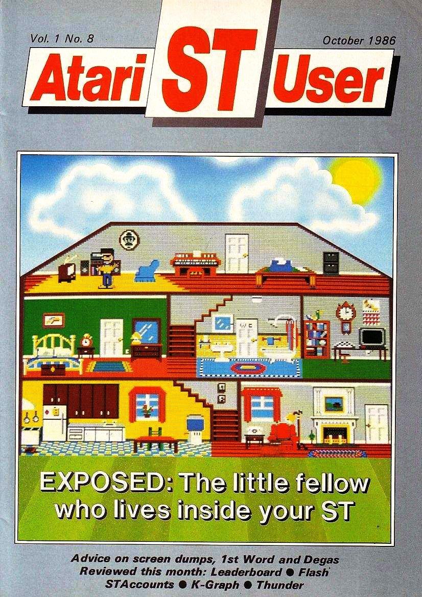 Atari ST User Issue 08 (October 1986)