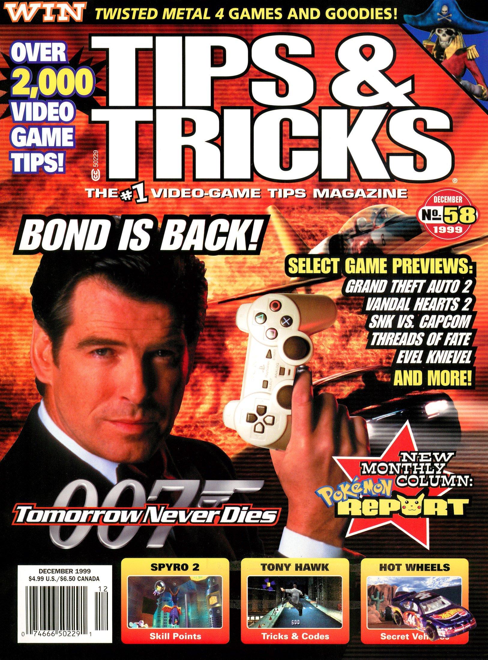 Tips & Tricks Issue 058 December 1999