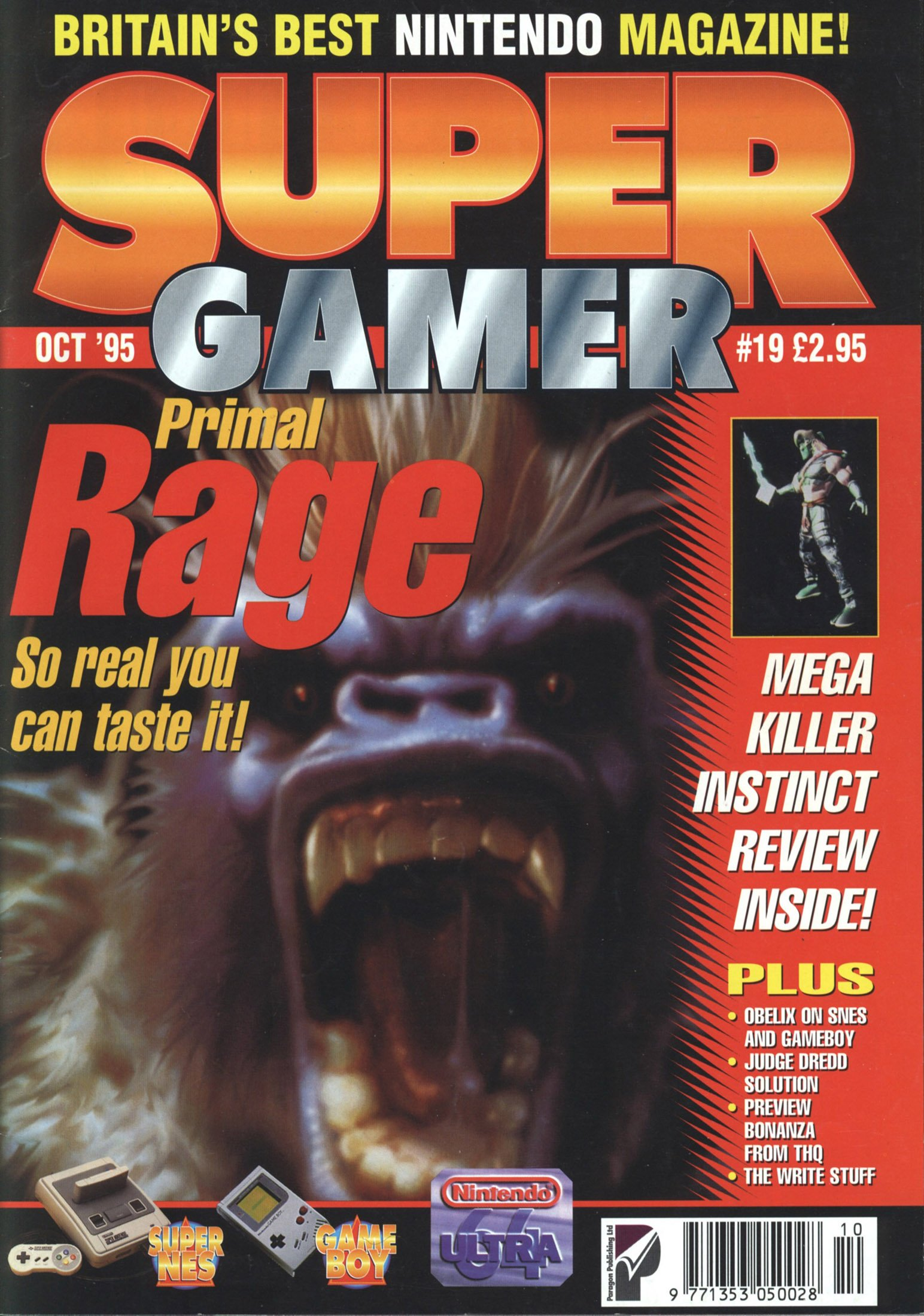Super Gamer Issue 19 (October 1995)