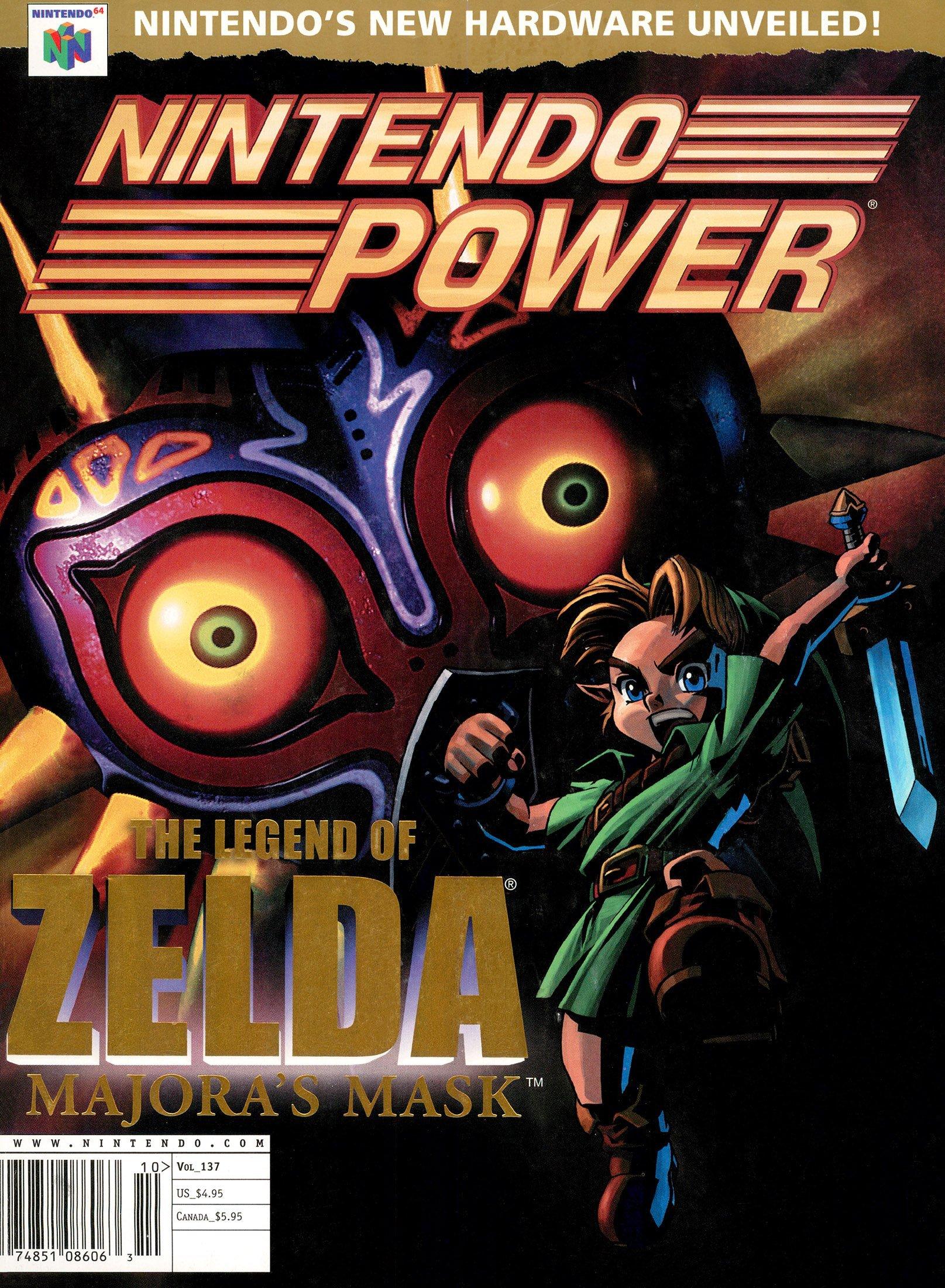 Nintendo Power Issue 137 (October 2000)