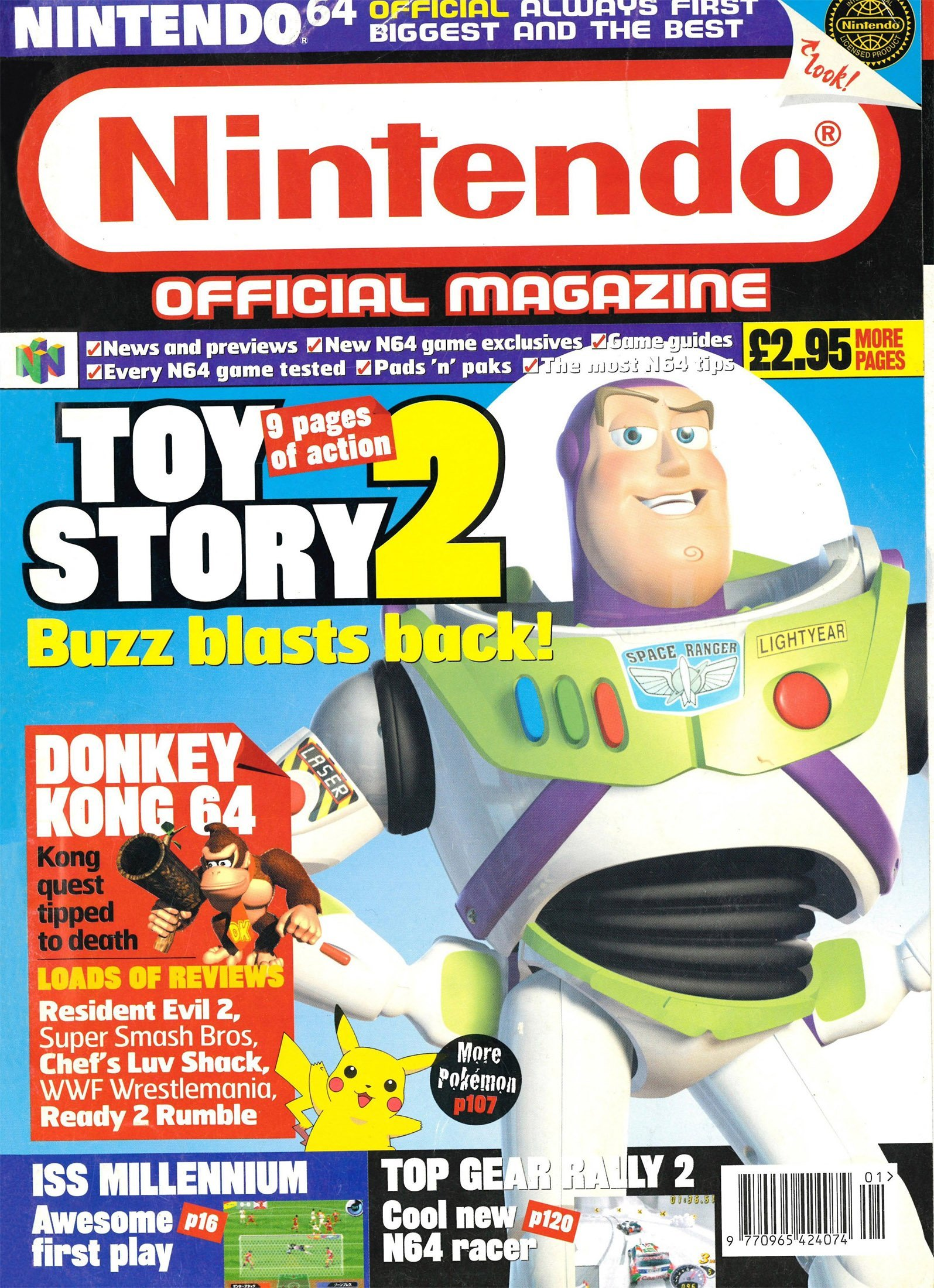 Nintendo Official Magazine 088 (January 2000)