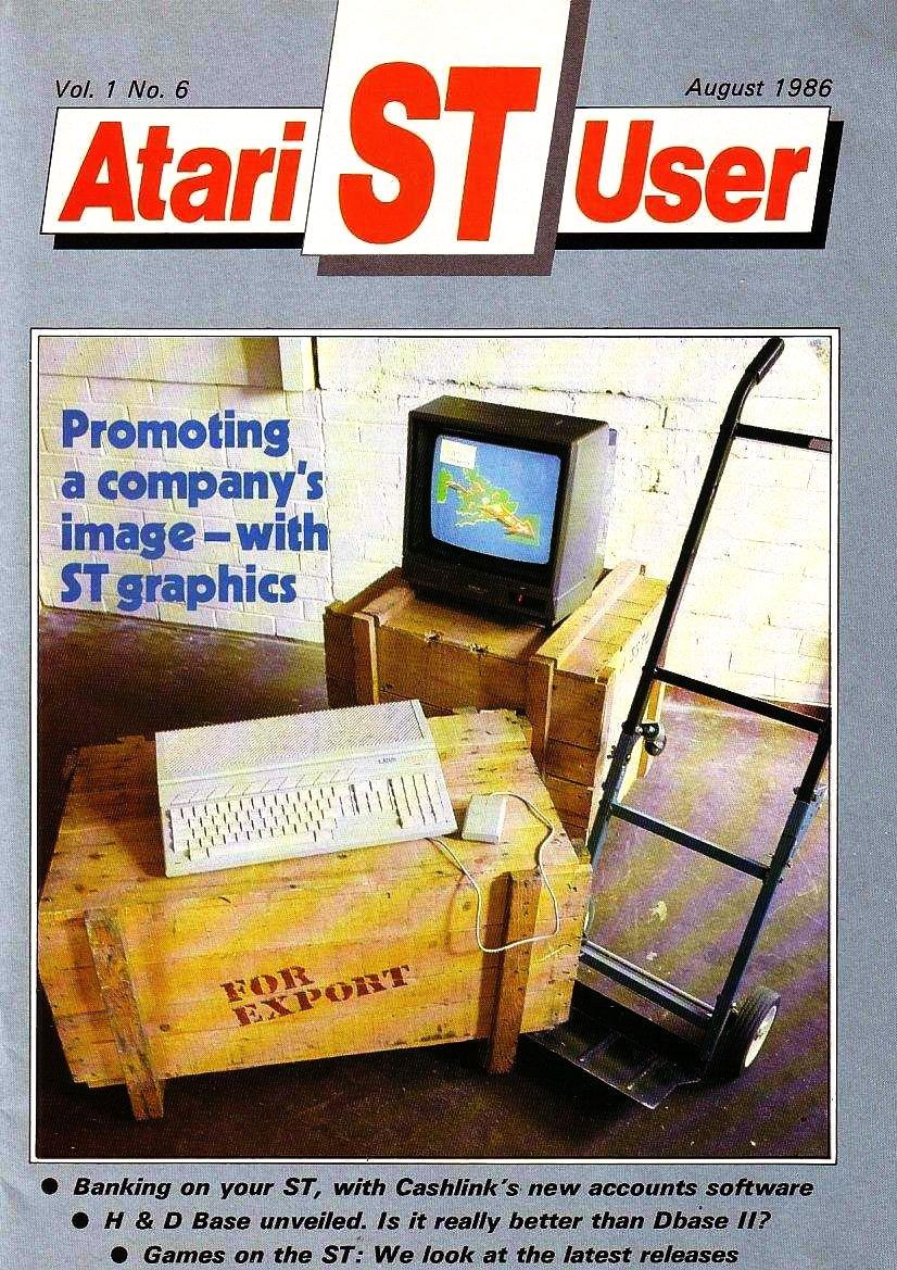 Atari ST User Issue 06 (August 1986)