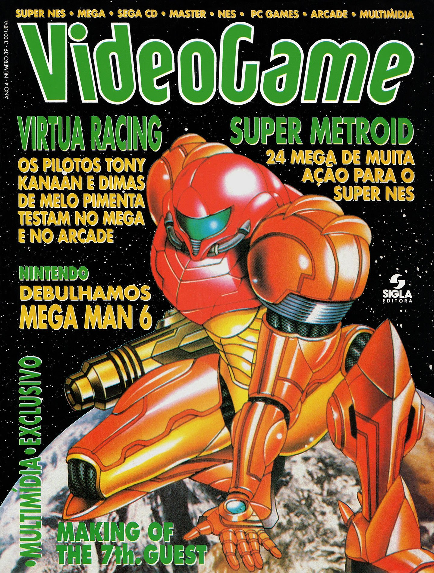 VideoGame Issue 39 (May 1994)