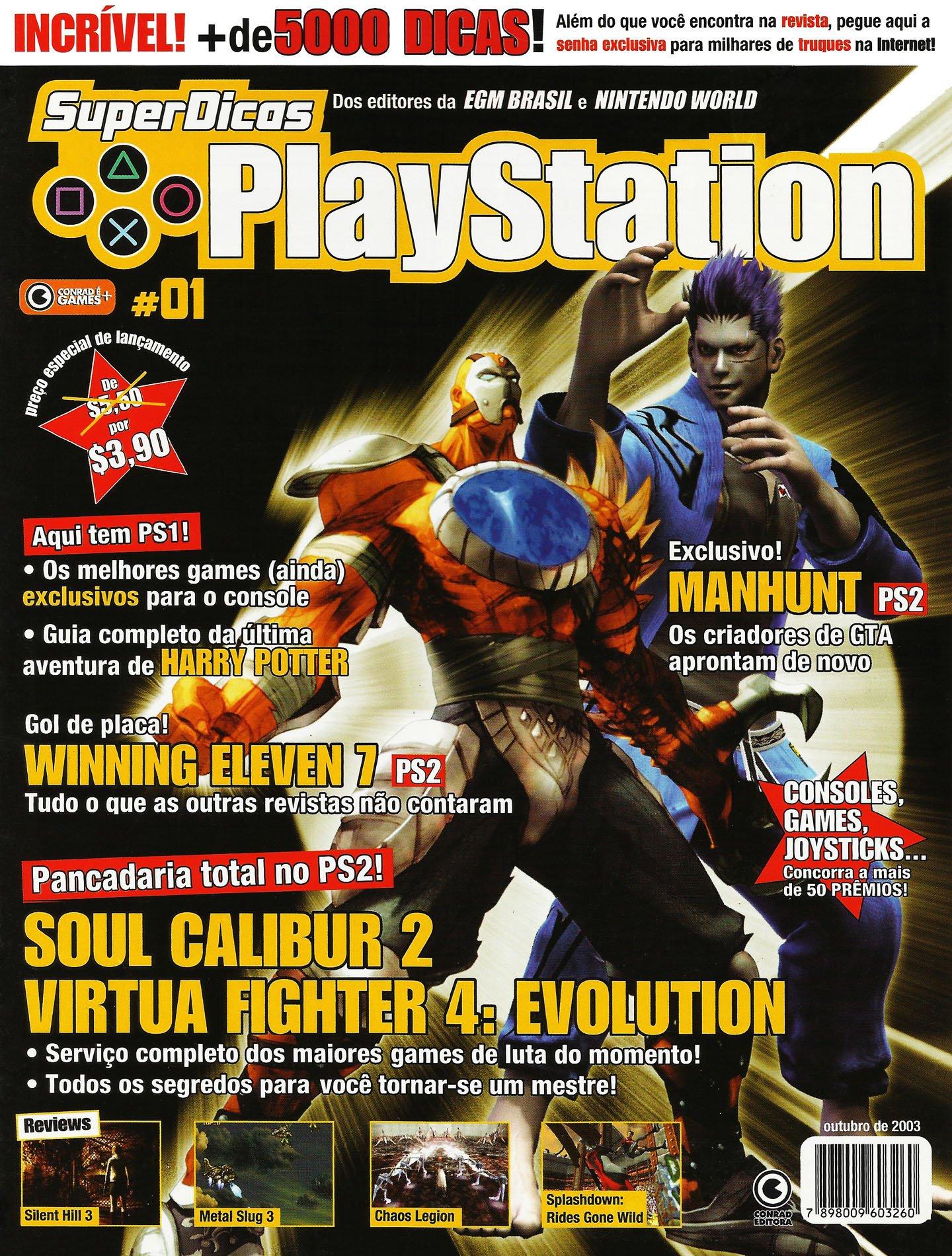 Super Dicas Playstation 01 (October 2003)